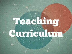 resources-teaching curriculum